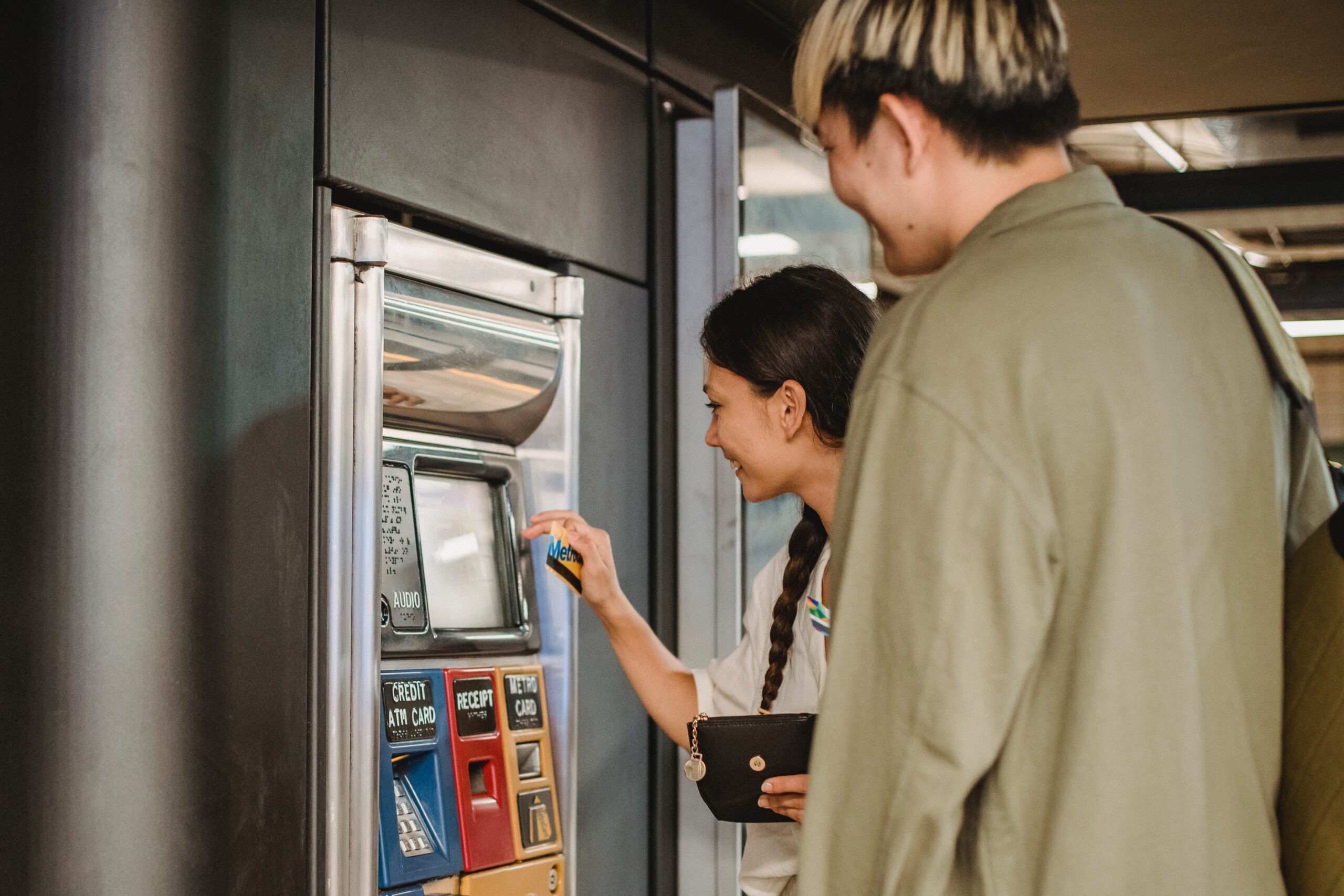 ATM card in the Indian banking system can only be used to withdraw money from ATM