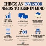 Things an Investor needs to Keep in Mind