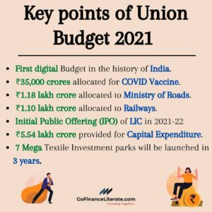 Key points from Union Budget 2021
